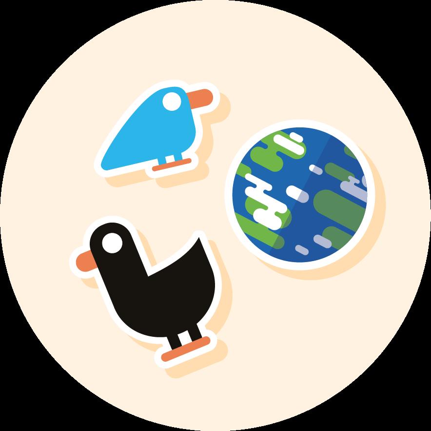 Merch_Kurzgesagt Sticker 1-