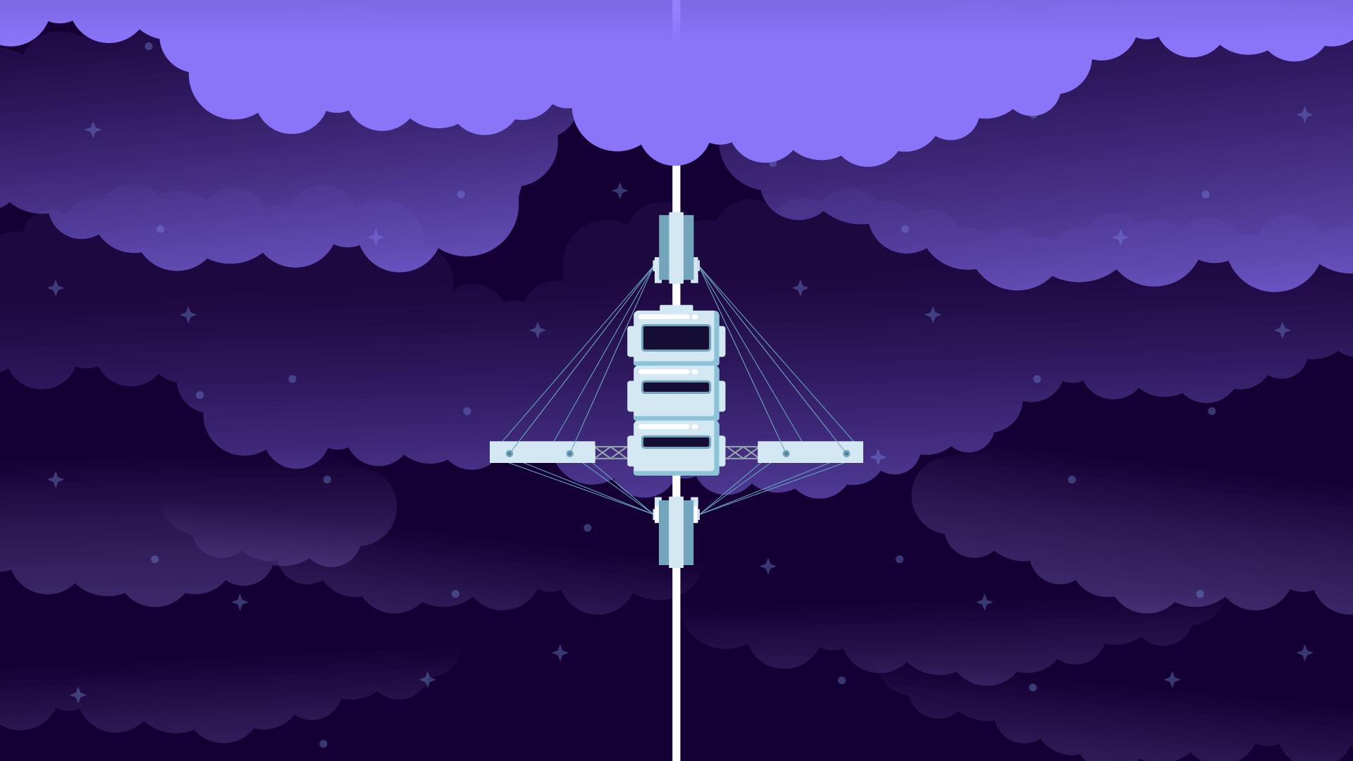 030_Website Project SpaceElevator_Kurzgesagt Header
